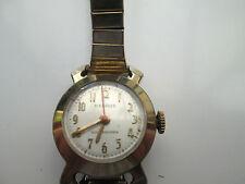 Vintage Señoras Oro Plateado Benrus, Amortiguador mecánico