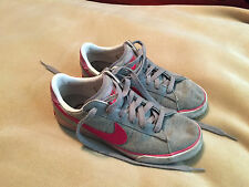 Womens Nike Sweet Classic Textile Grey/Pink BRS Trainers Size 6 Good Condition