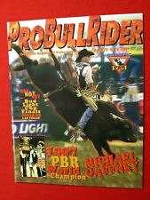 1997 Probullrider Pbr World Champion Michael Gaffney / Vol.3 No. 6