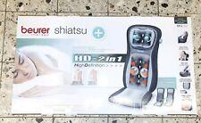 BEURER Massage Coussin d'assise Lumière Fonction Chaleur Fonction MG 260 Shiatsu...