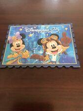 Disneyland Paris 25th Anniversary Magnet Mickey Minnie Brand New