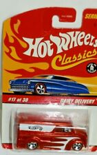Hot Wheels Classics 1997 Dairy Delivery RED LINE #17 of 30 From Series 2 >New<