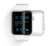 For All Apple Watch Series 1/2/3 Hard Slim Snap On Clear Case Ultra Slim