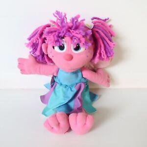 Sesame Street Talking Abby Cadabby Plush Fairy Doll Stuffed Toy 2010 Hasbro