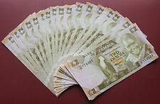 ZAMBIA BANKNOTES 2 KWACHA TWO KWACHA UNC- DEALERS LOT 25 PCS NOTES SET BUNDLE
