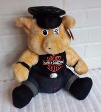 1998 Harley Davidson Pig Stuffed Animal Plush NWT                          (A13)