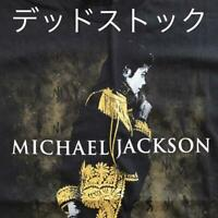 Michael Jackson Tour T-shirt 09 Vintage Deadstock Rare Men's L Genuine USA Made