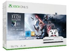 Consola - Microsoft Xbox One S, 1 TB, Blanco + Star Wars: Jedi Fallen Order