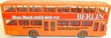 Arancione VERNICIATA BERLINO UNO STADT Stellt Sich MAN SD 200 WIKING BUS H0 1: