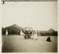 Africa Ballerini di tilingue Foto ND11 Targa per lente Stereo Vintage ca 1910
