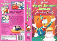 (VHS) Happy Birthday Donald! Ein Superstar feiert -Zeichentrick-Klassiker....