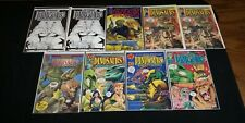 TOM MASON'S DINOSAURS FOR HIRE 9 ISSUE COMIC LOT ASHCAN MALIBU #1-5