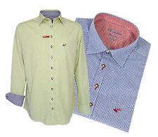 DER HINGUCKER! OS-Trachten Hemd Trachtenhemd langarm Slim Fit kariert
