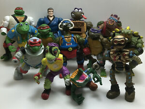 Parts Lot Of Teenage Ninja Turtles TMNT Vintage Figure