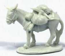 1 x PACK DONKEY  - BONES REAPER figurine miniature jdr rpg d&d ane mule 77402