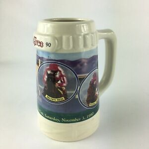1990 Oak Tree  California  Cup Thoroughbred Santa Anita Stein Mug