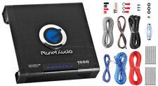 Planet Audio AC1500MK 1500Watt Max Anarchy Monoblock Class-A/B Amp w/ Wiring Kit