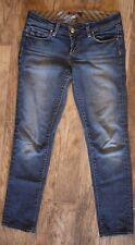 Paige Womens Denim Roxbury Cropped Jeans Straight Leg Medium Wash Size 26