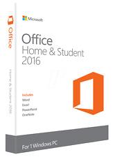 Microsoft Office 2016 Home & Student Vollversion Original Produktkey