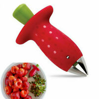 Strawberry Berry Leaves Huller Removal Corer Hanheld Kitchen Pitter Fruit Gem