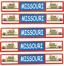 Travel TITLE STATE Scrapbook Stickers **ARKANSAS** 5 Sheets
