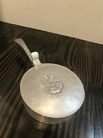 Vintage New Old Everlast Metal Hammered Aluminum Silent Butler Crumb Catcher Pan