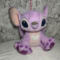 """Walt Disney Lilo Stitch Plush Girlfriend Angel Purple Pink Alien 12"""""""