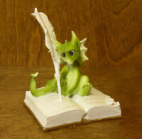 Top Collection Enchanted Story Fairy Garden #4039  DRAGON WRITING, NEW/Box