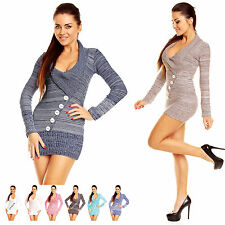 Zeta Ville - Womens Bodycon Stretch Warm Knitted Jumper Top Sweater Tunic - 912z