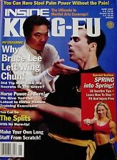 RARE 6/97 INSIDE KUNG FU WILLIAM CHEUNG YIP MAN BRUCE LEE KARATE MARTIAL ARTS