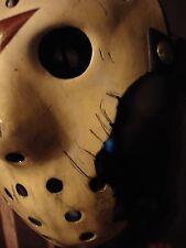 Jason Creation Station Friday 13th 7  Hockey MASK HALLOWEEN HORROR Replica Prop