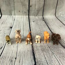 Lot of 6 Dog and Puppy Figures (Schleich, Procon, Tree House Kids)