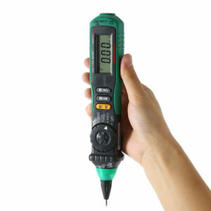 MASTECH MS8211D Pen-Type Digital Multimeter AC DC Volt Amp Ohm Multi Tester