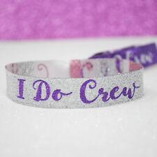 I Do Crew Hen Party Wristbands Accessories ~ Bachelorette Party Bracelets