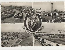Good Luck From Great Yarmouth 1958 RP Postcard 301a