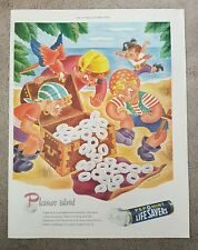 Life Savers Pepomint  1945 Vintage Paper Large Advert