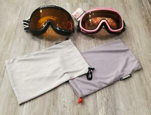 Ski Goggles Lot of 2 Pairs Smith & Scott