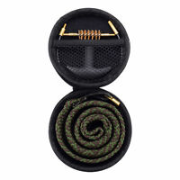 Gun Bore Cleaner Snake Brush Barrel Rope Cleaning Kit for Handgun .45 Caliber
