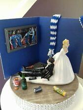 Unique Bride and Groom topper