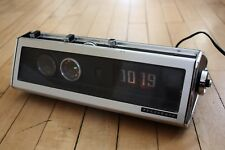 Panasonic RC-7589 FM-AM Clock Radio - w/ Pillow Speaker