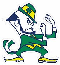"""Pair of (2) Notre Dame Fighting Irish Decal/Stickers Large Cornhole board 12"""" ND"""