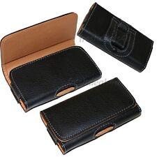 Bolsa de cinturón de Cuero Funda Para NOKIA N8, C7, X6, C3, 5800