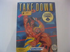 Take Down factory sealed Commodore 64 Game Gamestar