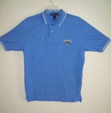 SHOWBOAT Lounge Logo Polo Shirt Size M Very Nice Blue Shirt