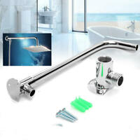 Shower Extension Arm Long 310 mm Bottom Entry Wall Mounted With Copper Base