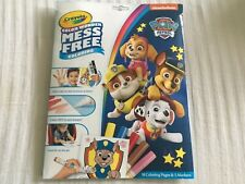 Paw patrol Crayola Color Wonder, color Explosion, and Sticker and Coloring Books