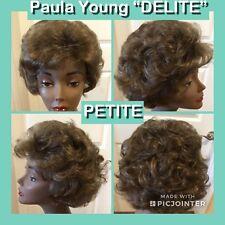 """Paula Young Wig """"DELITE"""" Size PETITE COLOR #18 Golden Ash Brown CLEAN (D-ELITE"""""""