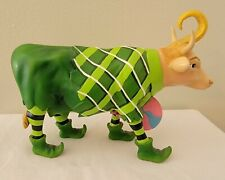 *Rare Cow Parade Wizard Of Oz Lollipop Munchkin Cow 7724 Retired Item 2005