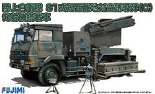 Fujimi 72M-10 1/72 scale JGSDF Type 81 Surface-to-Air Missile Firing Machine