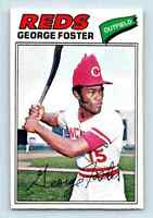 1977 O-Pee-Chee Must See Condition ! George Foster . #120